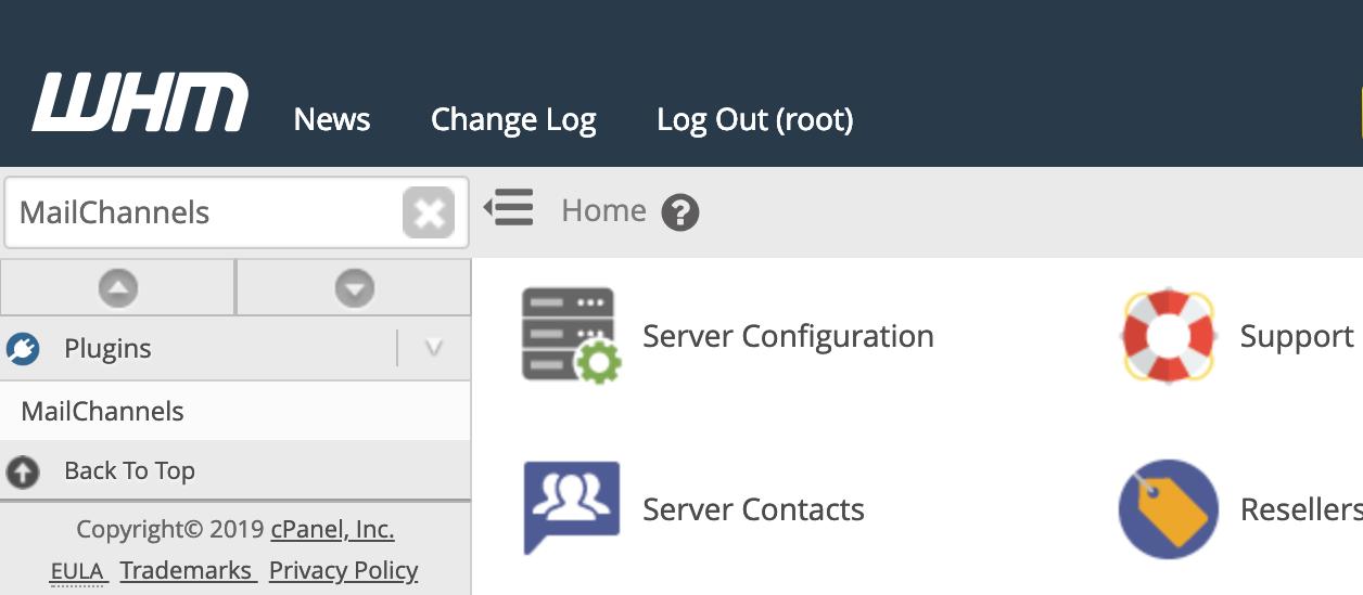 MailChannels cPanel & WHM plugin for Inbound Filtering – Help Center